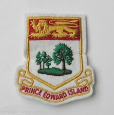 CANADA PRINCE EDWARD ISLAND NATIONAL FLAG EMBROIDERED PATCH 2 X 3 INCHES