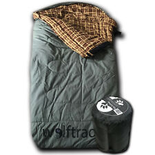 Wolftraders LoneWolf -30 Degree Oversized Canvas Cold Weather Sleeping Bag