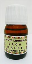 Saca Males aceite esotérico, Take Away Evils anointing OIL. 30 ml.