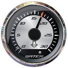 """FARIA PLATINUM 2"""" WATER PRESSURE GAUGE - 30 PSI"""