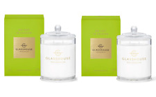 25%OFF Glasshouse We Met in Saigon Soy Candle 380gx2 Lemongrass Triple Scented