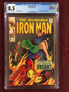 IRON MAN 3 CGC 8.5 1968