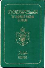 1987  JORDANIEN reisepass / JORDAN passport