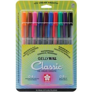 GELLY ROLL CLASSIC 10CT