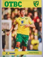 Norwich City v Bolton Wanderers Barclays Premier League 4/2/12 Mint Condition