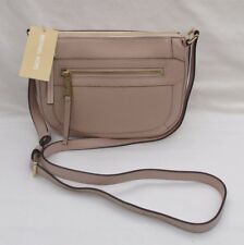 LADIES MICHAEL KORS JULIA BLUSH LEATHER MESSENGER BAG SHOULDER BAG  BNWT