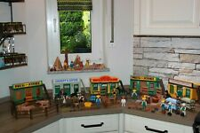 Playmobil Western Klicky Saloon Sheriff Office Drugstore Indianer Miners Hotel