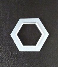 SIZZIX Die Cutter HEXAGONE forme 1.7 cm x 2 cm Thinlits Fits Big shot cuttlebug