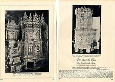 Majoloka - Schweizer Ofenbaukunst - Rokoko Der deutsche Ofen von 1929