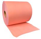 "NPS 3855R 12"" X 13"" Extra Heavy Duty Red Shop Towel Roll, 475 Wipes/Roll"