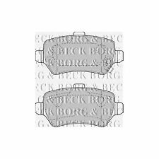Opel Astra H 1.6 Genuine Borg & Beck Rear Brake Pads Set