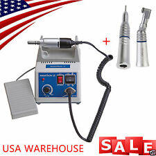Dental Lab Electric Marathon Micromotor N3 +Contra Angle Straight Handpiece H1-d
