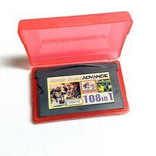 RARE 108 in 1 Nintendo Gameboy Advance GBA GBC Multicart *Pikachu Land!* & More