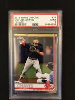 2019 Topps Chrome Update Michael Chavis Rookie PSA 9 Boston Red Sox RC