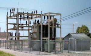 Woodland Scenics 2268 HO Ready Made Substation Utility System