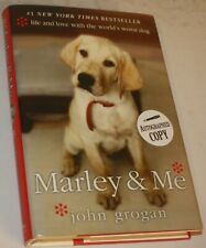 MARLEY AND ME  John Grogan SIGNED first edition
