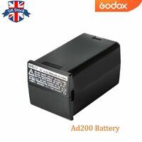Godox AD200PRO AD200 Batterie DC 14.4V 2900mAh 41.76Wh Batterie au Lithium Power Pack