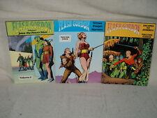 Flash Gordon Volume 3 4 5 TPB SET Escapes to Arboria Nostalgia Press  (t 210)