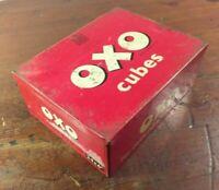 Collectable c1955 Vintage Oxo Tin 24 x 6's