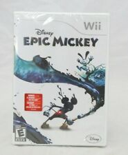 Disney Epic Mickey Nintendo Wii Brand New Factory Sealed