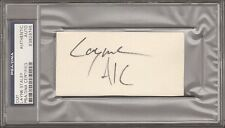 LAYNE STALEY Signed Autographed ALICE IN CHAINS Cut PSA/DNA SLABBED #83929745