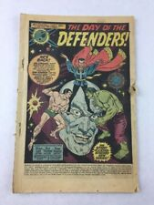 Marvel Feature #1 The Day of the Defenders! Dec 1971, Marvel Vintage Comic