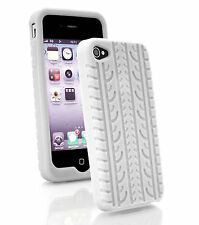White Fitted Case/Skin for iPhone 4s