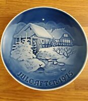 1975 Bing & Grondahl B&G Christmas of the Old Watermill plate 7 inch plate