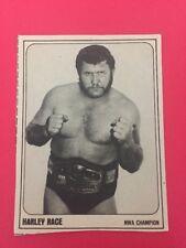 1978 Wrestling Annual HARLEY RACE Pro Professional Wrestling NWA Trading Card