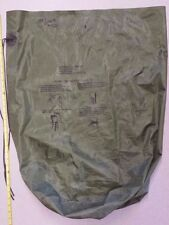 Good US ARMY OD GREEN WATERPROOF CLOTHING BAG US Military Surplus olive drab