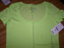 Women's City Streets NWT Short Sleeved, T-Shirt, Size Small, Green