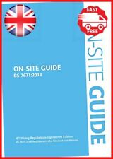On-Site Guide BS 7671:2018 Electrical Regulations