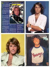 Andy Gibb rare collection / lot over 430 magazine articles clippings & photos M1