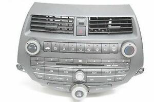 08 09 10 11 HONDA ACCORD AM FM RADIO CD PLAYER WITH CODE OEM