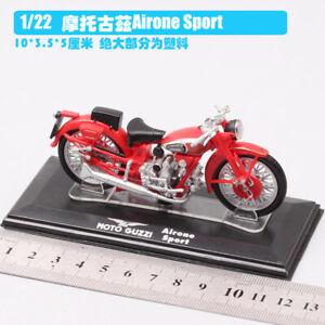 1/22  MOTO GUZZI Airone Sport dirt bike Motocross Diecast model Motorcycle toy
