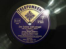 """ROSITA SERRANO """"Der Kleine Liebesvogel""""/""""Mein Herz Sehnt Sich Nach Liebe"""" 78 NM+"""