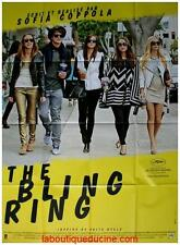 THE BLING RING Affiche Cinéma / Movie Poster SOFIA COPPOLA EMMA WATSON