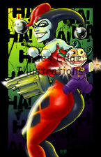 "Harley Quinn 11""x17"" fan art print SALE!"