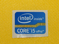 Groß Intel Core i5 vPro Sandy Bridge Ivy Bridge Aufkleber / Sticker aus DE