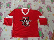 ALLEN AMERICAN NHL Minor League Hockey Red Jersey YOUTH SIZE L 14-16