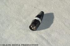 DMX XLR END Terminator Abschlusswiderstand HiCon nach DIN 120 Ohm 3Pol *NEU*