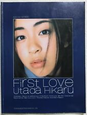 HIKARU UTADA PIANO SOLO SCORE BOOK JAPAN 1999 First Love w/ lyrics F/S