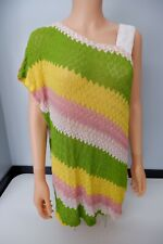 Missoni Knitted Dress Size 40 Uk 10 Sequin Shoulder Strap VGC