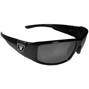 Las Vegas Raiders Black Wrap Sunglasses