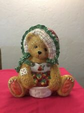 Vintage Cherished Teddies Cookie Jar 1995