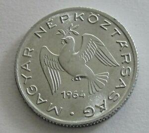 Hungary Aluminum 10 Filler 1964, KM 547