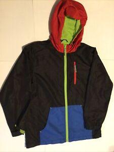 Rothschild Snowboard Jacket Winter Coat Size 10-12 Green Red Blue Black