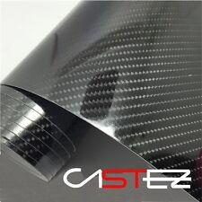 VINILO CARBONO 5D ultra brillante glossy real - 20x30 cm -  CARBON FIBER VINYL