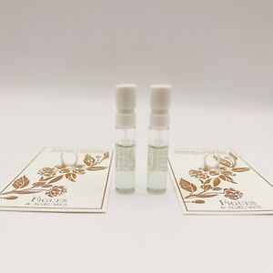 2 x MAISON LANCOME FIGUES & AGRUMES EDP Spray 1.5ml each NEW ON CARD