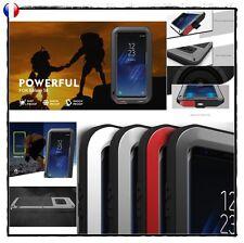 Etui Coque Antichocs incassable LOVE MEI Shockproof Case Cover Samsung Galaxy S8